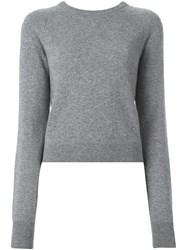 Equipment Classic Knitted Jumper Grey
