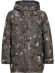 Mackintosh Camouflage Event Down Coat Gdh 002 Green