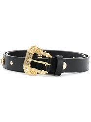Versace Jeans Couture Studded Belt Black