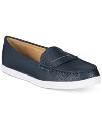 Wanted Tabor Loafers Women's Shoes Navy
