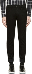 Rag And Bone Black Skinny Low Rise Jeans