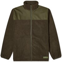 Rains Fleece Jacket Green