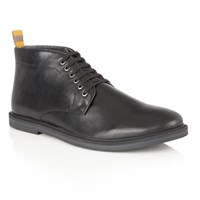Frank Wright Corby Mens Boots Black