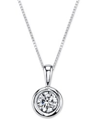 Sirena Energy Diamond Pendant Necklace 1 5 Ct. T.W. In 14K Gold Or White Gold