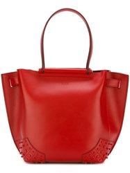 Tod's Shopper Tote Red