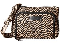 Vera Bradley Little Hipster Zebra Cross Body Handbags Animal Print