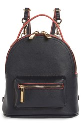 Deux Lux Annabelle Mini Faux Leather Backpack Blue Admiral