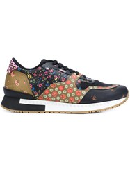 Givenchy Contrast Floral Panel Sneakers Multicolour