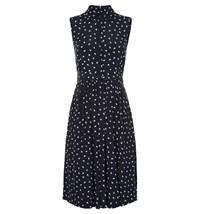 Hobbs Birdie Dress Blue Multi