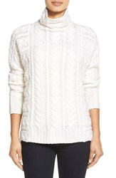 Women's Nordstrom Collection Cable Cashmere Sweater