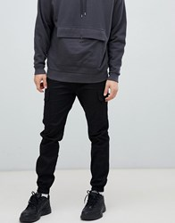 Sixth June Utility Cargo Joggers In Black