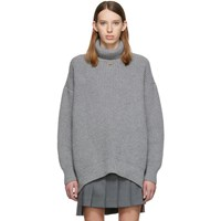 Givenchy Grey Oversized Turtleneck
