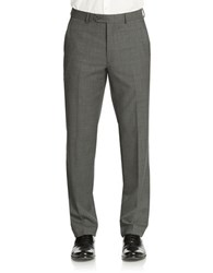 Lauren Ralph Lauren Classic Fit Double Pleated Pant Grey