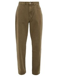Our Legacy Formal Cut Straight Leg Jeans Brown