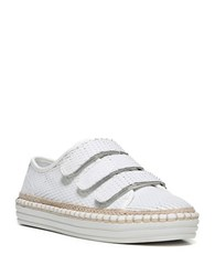 Fergie Grove Platform Sneakers White