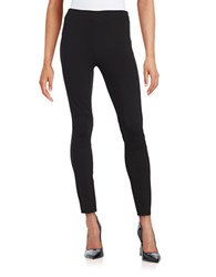 Elie Tahari Oleander Double Knit Leggings Black