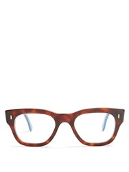 Cutler And Gross 0772 D Frame Glasses Brown Multi