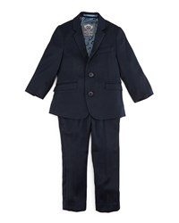 Appaman Narrow Lapel Jacket And Pants Set Navy