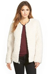 Women's Marc New York 'Jasmine' Faux Shearling Jacket