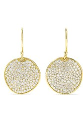 Ippolita Stardust Flower 18 Karat Gold Diamond Earrings One Size