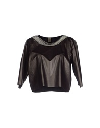 Jijil Blouses Dark Brown