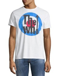 Chaser The Who Crewneck Tee White