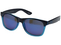 Vans Spicoli 4 Shades Translucent Maliblue Evil Blue Fashion Sunglasses Black