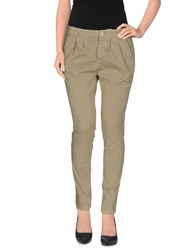 Yoon Casual Pants Military Green