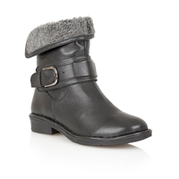 Lotus Matterhorn Casual Boots Black