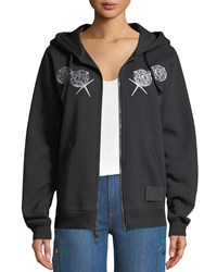 Coach Disney X Bashful Embroidered Graphic Hoodie Black