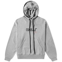 Unravel Project Unrvl Print Hoody Grey