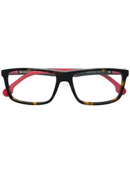Carrera Square Glasses Brown