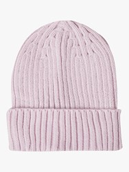 French Connection Knitted Beanie Lavender Frost