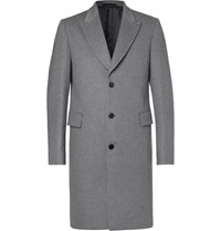 Paul Smith Wool And Cashmere Blend Coat Gray
