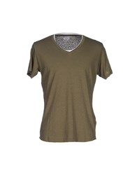 Bomboogie T Shirts Military Green