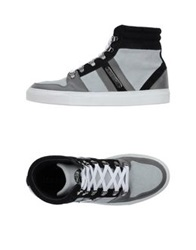 Les Hommes High Tops And Trainers Grey