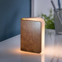 Gingko Leather Smart Book Light Brown