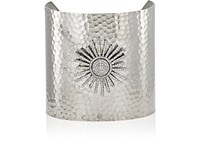 Beth Banker Women's Wide Band Cuff Silver