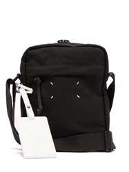 Maison Martin Margiela Canvas Cross Body Bag Black