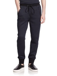 3.1 Phillip Lim Jacquard Sweatpants Navy