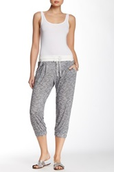 Central Park West Spacedye Pleated Jogger Gray