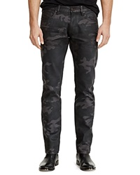 Ralph Lauren Black Label Rider Wash Camo Jean Slim Fit