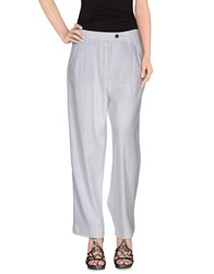 Truenyc. Denim Denim Trousers Women White