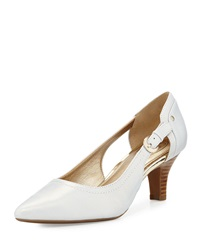 Circa Joan And David Clarity Cutout Pointed Toe Pump Light Blue
