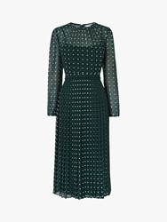 Lk Bennett L.K.Bennett Avery Dress Pri Green Polka