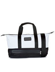 Adidas By Stella Mccartney Black And White Small Gym Bag