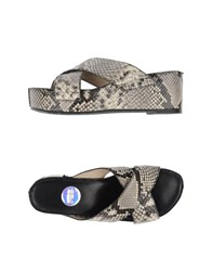 Ras Footwear Sandals Women Grey