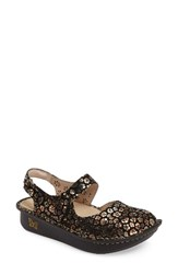 Alegria Women's 'Jemma' Platform Flat Copper Beauty Leather