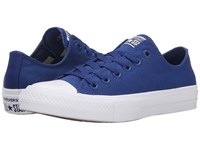 Converse Chuck Taylor All Star Ii Ox Sodalite Blue White Navy Classic Shoes