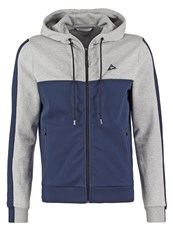 Le Coq Sportif Tech Tracksuit Top Light Heather Grey Dress Blues Mottled Light Grey